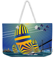 Usna High Noon Sail Weekender Tote Bag