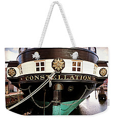Uss Constellation Weekender Tote Bag