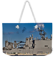 Uss Fort Mchenry Weekender Tote Bag