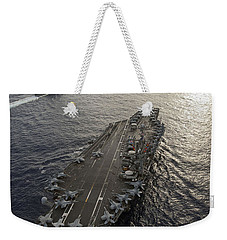 Uss George Washington And Uss Mobile Weekender Tote Bag