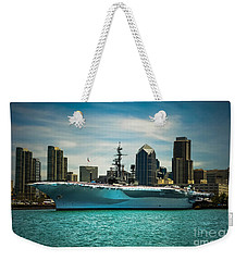 Uss Midway Museum Cv 41 Aircraft Carrier Weekender Tote Bag