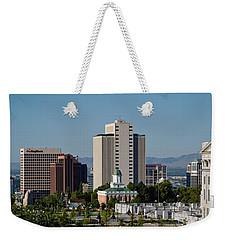 Utah State Capitol Building, Salt Lake Weekender Tote Bag