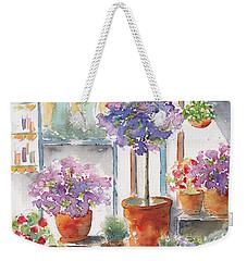Uzes Market Weekender Tote Bag by Pat Katz