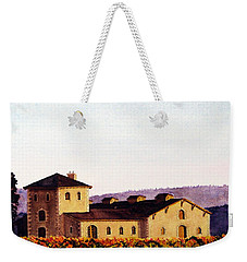 V. Sattui Winery Weekender Tote Bag by Mike Robles