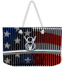 Weekender Tote Bag featuring the photograph V8 Freedom by Jani Freimann