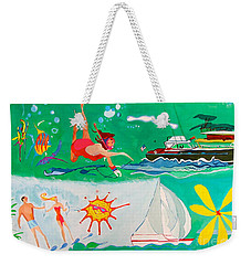 Vacation All I Ever Wanted Weekender Tote Bag by Beth Saffer