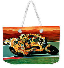 Valentino Rossi The Doctor Weekender Tote Bag