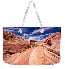 Valley Of Fire 2 Weekender Tote Bag by David Beebe