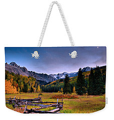 Valley Of Mt Sneffels Weekender Tote Bag