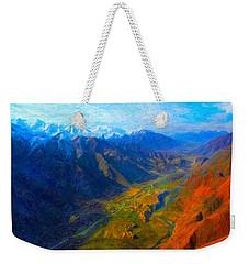 Valley Shadows Weekender Tote Bag