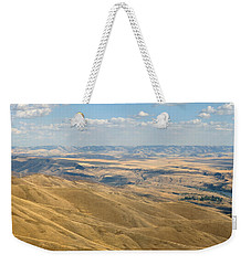 Weekender Tote Bag featuring the photograph Valley View by Mark Greenberg