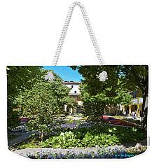 Weekender Tote Bag featuring the photograph Van Gogh - Courtyard In Arles by Allen Sheffield