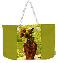 New Orleans Van Gogh Vase Revisited Weekender Tote Bag