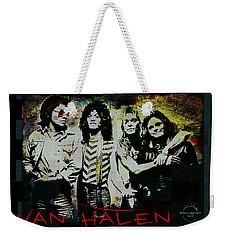 Van Halen - Ain't Talkin' 'bout Love Weekender Tote Bag by Absinthe Art By Michelle LeAnn Scott