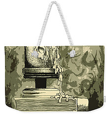Bougie Weekender Tote Bag by Julio Lopez