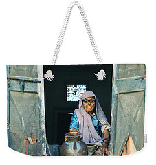 Varanasi Water Seller Weekender Tote Bag by Shaun Higson