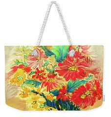 Vase Weekender Tote Bag by Jasna Dragun