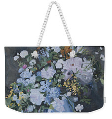 Vase Of Flowers - Reproduction Weekender Tote Bag