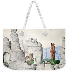 Vaulting Weekender Tote Bag by A  Robert Malcom
