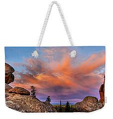 Vedauwoo Sunrise Weekender Tote Bag by Steven Reed