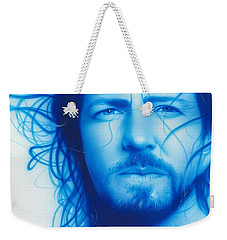 Eddie Vedder - ' Vedder ' Weekender Tote Bag by Christian Chapman Art
