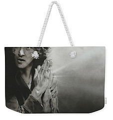 Eddie Vedder - ' Vedder Iv ' Weekender Tote Bag by Christian Chapman Art