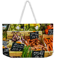 Veg At Marche Provencal Weekender Tote Bag by Allen Sheffield