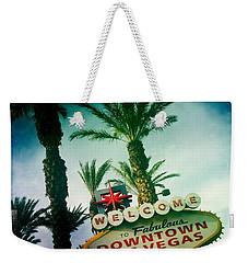 Vegas Weekender Tote Bag by Nina Prommer