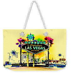Vegas Weekends Weekender Tote Bag by Az Jackson