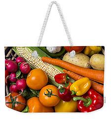 Vegetable Basket    Weekender Tote Bag by Garry Gay