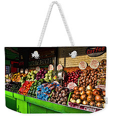 Greenwich Village Market Weekender Tote Bag