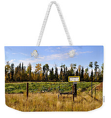 Weekender Tote Bag featuring the photograph Vegetables For Sale by Cathy Mahnke