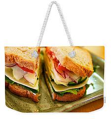 Veggie Sandwich Weekender Tote Bag