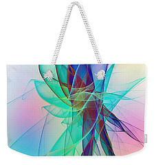 Veildance Series 2 Weekender Tote Bag by Klara Acel
