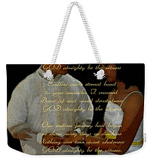 Vein Of Love Poem Weekender Tote Bag