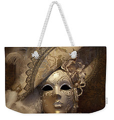 Venetian Face Mask F Weekender Tote Bag