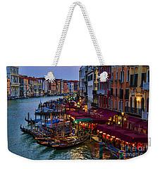 Venetian Grand Canal At Dusk Weekender Tote Bag