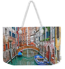 Weekender Tote Bag featuring the photograph Venetian Idyll by Hanny Heim