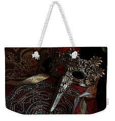 After The Carnival - Venetian Mask Weekender Tote Bag