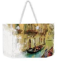 Venice 1 Weekender Tote Bag by Greg Collins