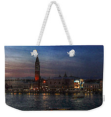 Weekender Tote Bag featuring the photograph Venice By Night by Hanny Heim
