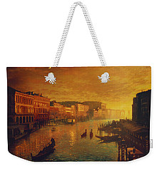 Venice From The Rialto Bridge Weekender Tote Bag by Blue Sky
