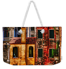 Venice Homes Weekender Tote Bag by Jerry Fornarotto
