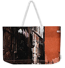Weekender Tote Bag featuring the photograph A Chapter In Venice by Ira Shander
