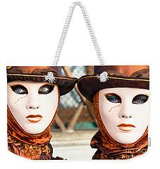 Venice Masks - Carnival. Weekender Tote Bag
