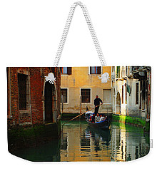 Venice Reflections Weekender Tote Bag by Bob Christopher