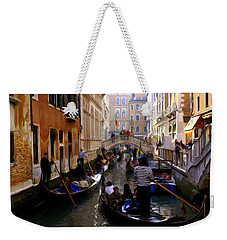 Venice Weekender Tote Bag by Ron Harpham