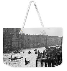 Venice Grand Canal Weekender Tote Bag by Silvia Bruno