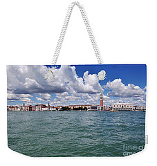 Weekender Tote Bag featuring the photograph Venice by Simona Ghidini