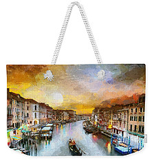 Sunrise In The Beautiful Charming Venice Weekender Tote Bag